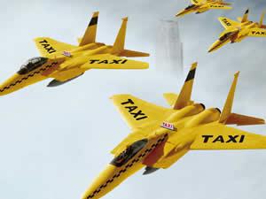 Airplane Taxi Jigsaw