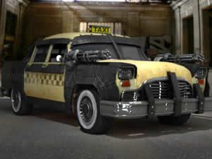 Armed Taxi Jigsaw