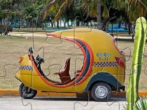 Coco Taxi Puzzle