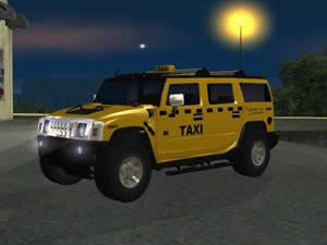 Hummer Taxi Jigsaw