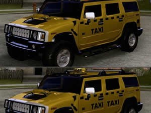 Hummer Taxi Differences