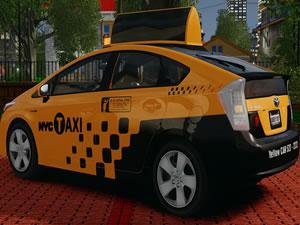 Prius Taxi Jigsaw