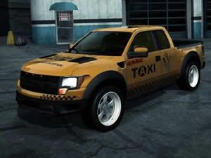 Raptor Taxi Jigsaw