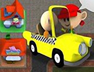 Sim Taxi in Bubble City