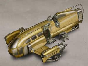Space Taxi Jigsaw