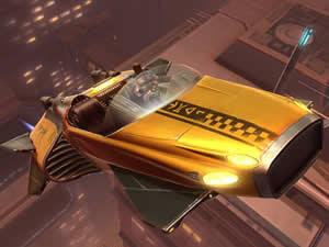 Star Wars Taxi Jigsaw