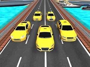 Taxi Cars Jigsaw