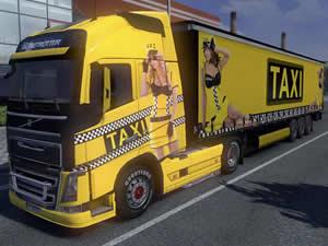 Truck Taxi Jigsaw